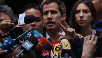 FOTO Guaidó pidió detener repatriación de reservas de oro / Caracas, Venezuela 27 enero 2019