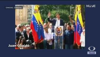 Juan Guaidó se autoproclama presidente de Venezuela