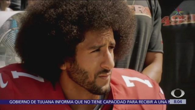 Kaepernick, origen de protestas de la NFL contra el racismo