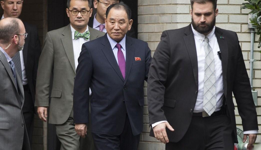 Trump se reúne con líder de inteligencia norcoreana