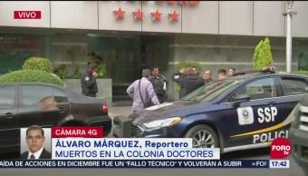 Encuentran Dos Cuerpos En Hotel De La Colonia Doctores, Dos Cuerpos En Hotel De La Colonia Doctores, Autoridades Capitalinas, Ciudad De México