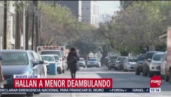 Encuentran A Menor Deambulando En Nuevo León, Nuevo León, Calles De San Pedro, Niña Padece Una Enfermedad Mental