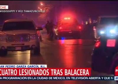 Balacera deja cuatro lesionadas en bar de Nuevo León