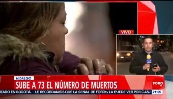 Celebran misa por hospitalizados tras explosión en Hidalgo