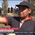 Buscan pobladores a sus familiares en Tlahuelilpan, Hidalgo