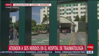Fallece paciente de Hidalgo en Hospital de Traumatología, Edomex