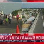 Llega a México nueva caravana migrante