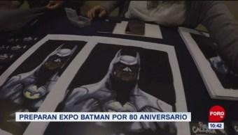 #LoQueVimosEnLaRed: Preparan Expo Batman por 80 aniversario