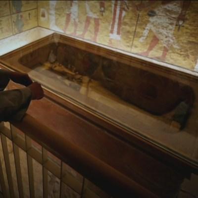 Luego de nueve años de restauración, abren tumba de Tutankamón