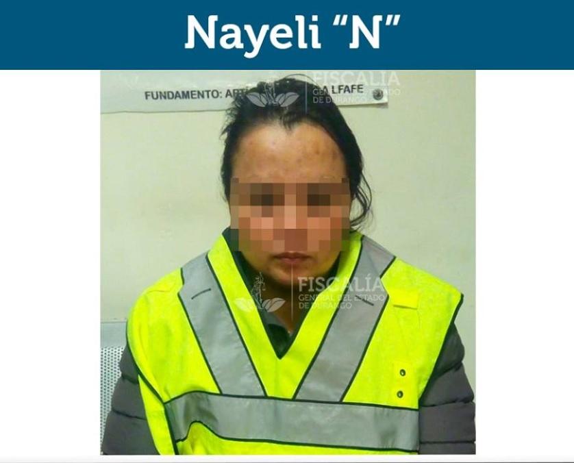 Detienen madre que golpeó hijo con un cable en Durango