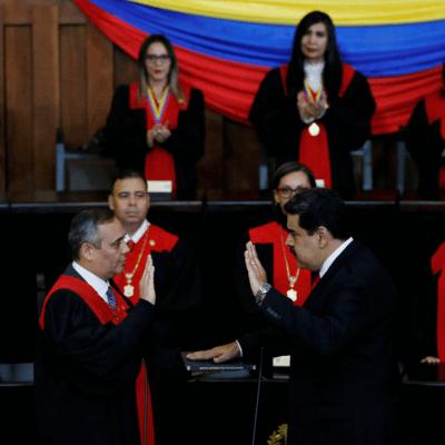 Maduro jura para segundo período; será presidente de Venezuela hasta 2025