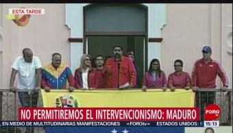 Maduro llama a la movilización en Venezuela