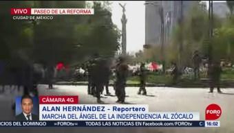 Foto: Marcharán en Paseo de la Reforma, cierran carriles centrales