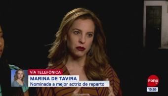 Marina de Tavira reacciona a su nominación a un premio Oscar