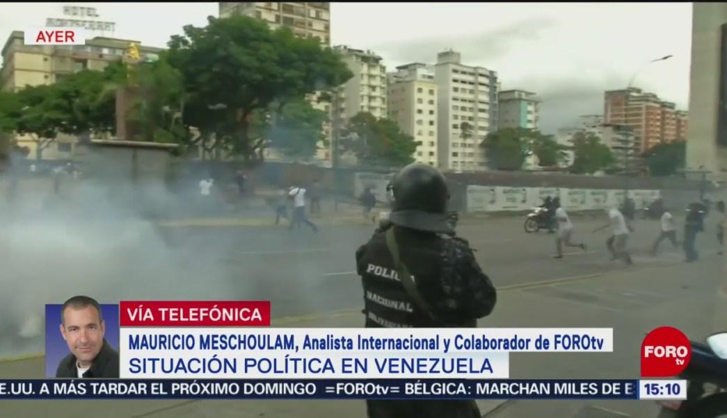 Mauricio Meschoulam analiza la situación política en Venezuela