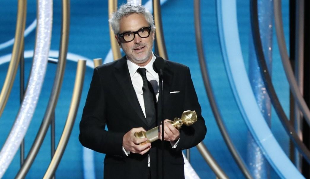 Resultado de imagen para Alfonso Cuarón mejor director globo de oro 2019