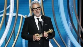 Alfonso Cuarón gana Globo de Oro como Mejor Director