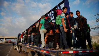 Imagen: Varias caravanas de migrantes hondureños y salvadoreños han pasado por territorio guatemalteco en tránsito hacia Estados Unidos el 26 de enero de 2019