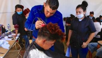 caravana migrante, atención, autoridades verifican, Notimex, 30 enero 2019