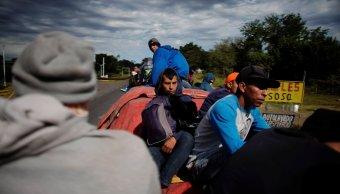 migrantes son desalojados forma violenta pobladores de tecun uman guatemala