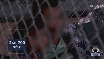 Miles de niños separados de sus padres migrantes