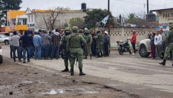 seguridad Hidalgo; enfrentamiento entre militares y huachico