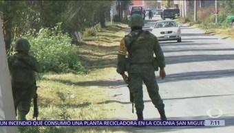 Militares regresan a Tlahuelilpan, Hidalgo, tras explosión