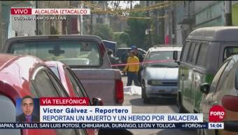 Muerto y herido por balacera en la Ramos Millán