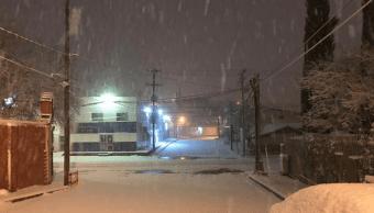 Cierran Puerto San Luis de Sonora por nevadas