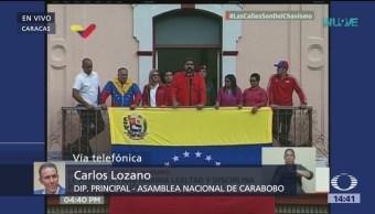 Nicolás Maduro es un usurpador, asegura Carlos Lozano