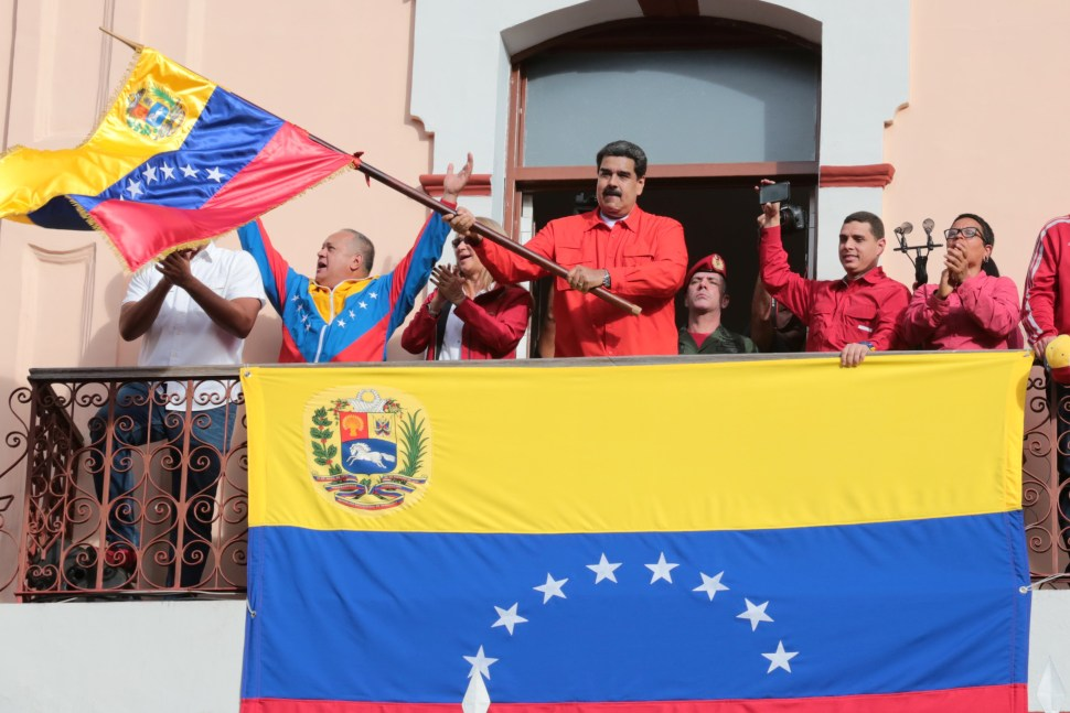 Nicolás Maduro, relaciones con Estados Unidos, 23 de enero de 2019