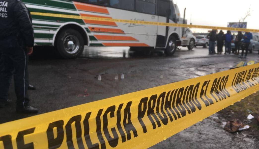 Niña participa en asalto a camión en Texcoco-Lecheria