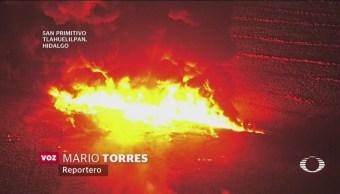 Noticieros Televisa Recorre Zona Explosión Hidalgo
