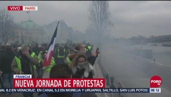 Nueva Jornada de Protestas en Francia