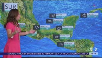 Nuevo frente frío causará lluvias en gran parte de México