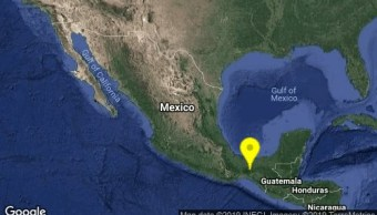 Ocurre sismo de magnitud 4.3 en Cintalapa, Chiapas