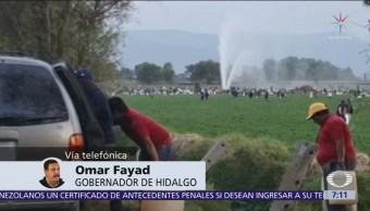Omar Fayad aclara que gobiernos estatales no resguardan ductos de Pemex