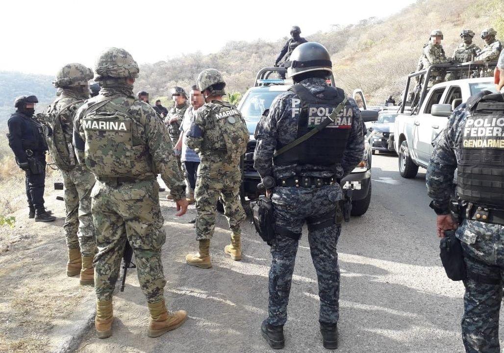 Seguridad Guerrero; grupo armado irrumpe Coahuayutla