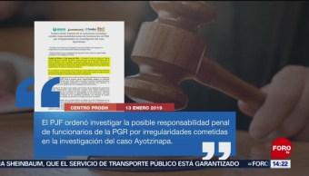 Ordenan Investigar A Funcionarios De Pgr Por Ayotzinapa, Pgr, Ayotzinapa, Poder Judicial De La Federación, Caso Ayotzinapa, Procuraduría General De La República