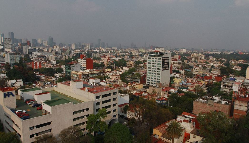 Prevén lluvias dispersas para la Ciudad de México
