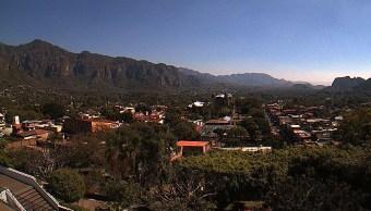 Foto: Bajas temperaturas Tepozteco, Morelos, el 24 de enero