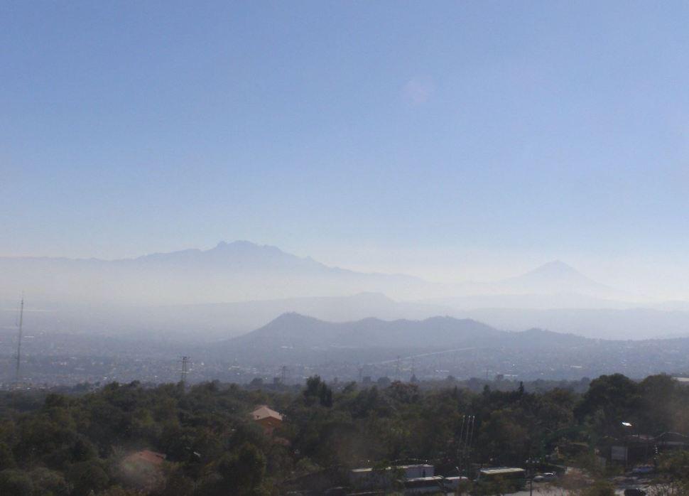 Foto: Valle de México registra calidad del aire regular, 27 enero 2019