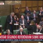 Parlamento británico rechaza enmiendas al Brexit