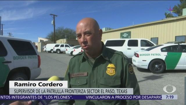 Patrulla Fronteriza, en alerta por cruces de migrantes por desierto