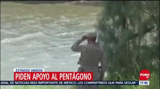 Pentágono Recibe Solicitud De Apoyo En La Frontera, Pentágono, Apoyo En La Frontera, Frontera Con México, Contener La Migración