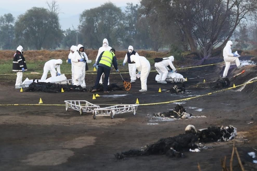 Tlahuelilpan: Investigan si fueron civiles o crimen organizado