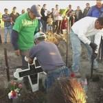 Foto: Pobladores recuerdan a fallecidos en explosión en Tlahuelilpan
