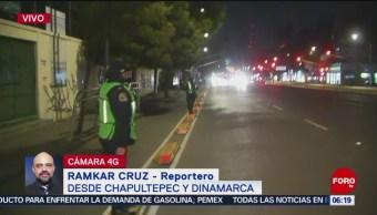 Policías vigilan ingreso de alumnos en las escuelas de la CDMX