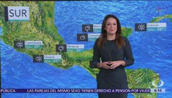 Pronostican lluvias fuertes en Sinaloa y Sonora