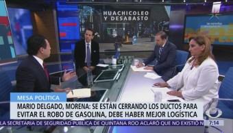 Puebla, huachicoleros y Guardia Nacional, mesa política en Despierta